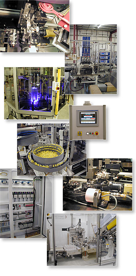 Paquette & Associates has integrated technologies from robotics to vision systems to packaging systems and much more